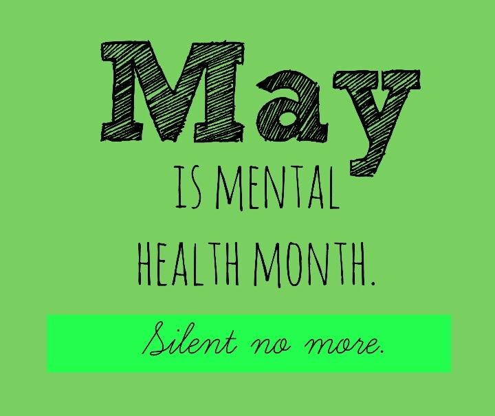 "My Two Cents Post 4- ""May is Mental Health Awareness Month"""
